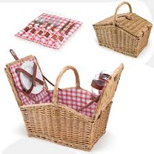 picnic basket for 2 piccadilly picnic basket for 2 checker