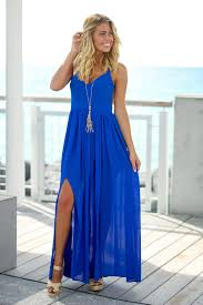royal blue dress royal blue maxi dress with open back maxi dresses saved by the