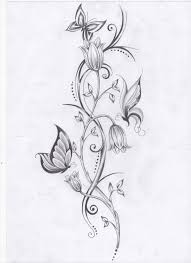 best 25 flower vine tattoos ideas on pinterest side foot