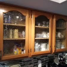 seeded glass kitchen cabinet doors custom textured glass