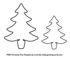 christmas tree template for cookies template business