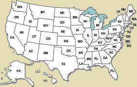 map usa states with cities map usa states with cities