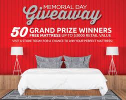 memorial day bed sale memorial day giveaway
