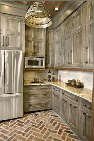 Antique Kitchen Cabinets Antiqued Kitchen Cabinets Distressed Antique White Kitchen