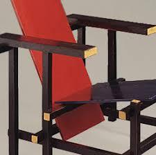 chaise rietveld la chaise et bleue de gerrit rietveld