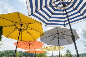 Orange Patio Umbrella by The Art Of Buying The Perfect Patio Umbrella Summer Classics