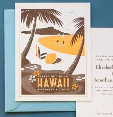 wedding invitations hawaii destination wedding invitations hello lucky