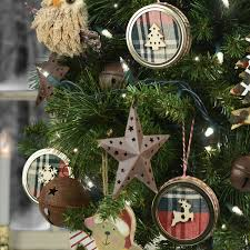 lodge style rustic ornaments a c