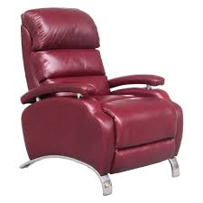 barcalounger oracle ii leather push back recliner hayneedle