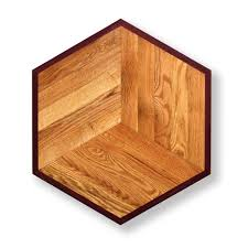 hexagon wood floor medallion mo005pid floors pid floors