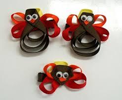 diy turkey bow diy turkeys bows thanksgiving accessories