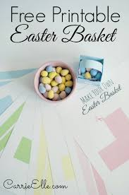 free printable easter baskets
