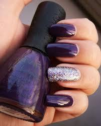 fall nail trend dark purple nail designs nail art pinterest