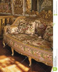 Louis Xiv Bedroom Furniture Furniture In Queen Marie Antoinette Bedroom At Versailles Palace