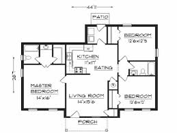 Simple Home Plans Free Best Free 3 Bedrooms House Design And Lay Out Simple House Plan