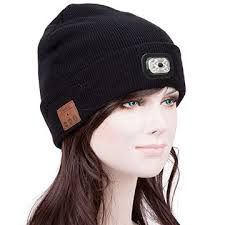 Knit Cap With Led Light China Bluetooth Headphone Hat With Led Light Good For Enjoying