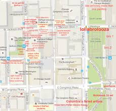 Uconn Campus Map A Judgmental Map Of Depaul U0027s Loop Campusthe Black Sheep