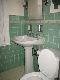renovations bathroom with green color scheme wall paint floor