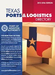Ra Materials Comfort Tx Texas Ports U0026 Logistics Directory By Port Of Houston Authority Issuu