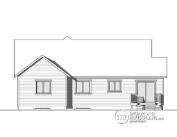 Narrow Lot House Plans With Rear Garage House Plan W3284 Cig Detail From Drummondhouseplans Com