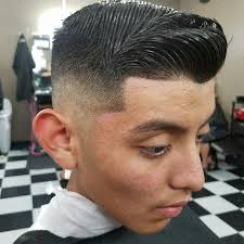 comb over with bald fade hair cut albert estrada