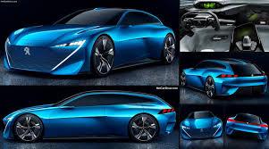 peugeot sport car 2017 peugeot instinct concept 2017 pictures information u0026 specs