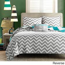 grey and turquoise bedding beds decoration