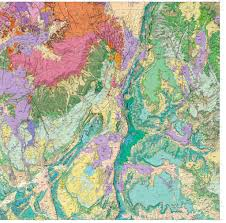 Map Of Zion National Park St George 30x60 U0027 Geologic Map Maplets