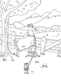 download goat coloring pages to print animal coloring pages