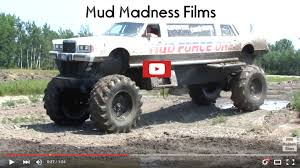 monster trucks in mud videos the muddy news one of the biggest mega trucks mud force one