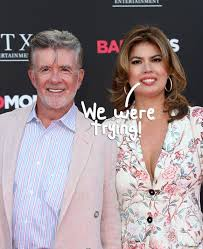 alan thicke u0027s widow denies gold digger allegations by revealing