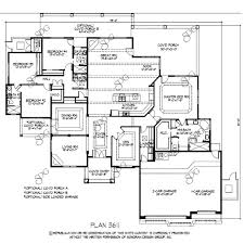 arizona home plans custom home plans tucson 3500 3999 sq ft stock plans