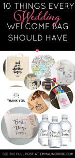 wedding guest bags if you re welcome bags for your out of town guests you