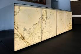 Yellow Reception Desk Backlit White Onyx Reception Desk Gpi Design