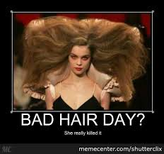 Bad Hair Day Meme - bad hair day by shutterclix meme center