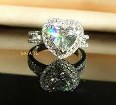 heart fashion rings images Wish mowte women 39 s fashion rings 925 sterling silver 2 0ct heart jpg