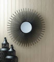 Wholesale Vintage Home Decor Suppliers Iron Rays Wall Mirror Wholesale At Koehler Home Decor