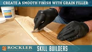 how do i get a smooth finish on kitchen cabinets creating a smooth wood finish with grain filler rockler skill builders