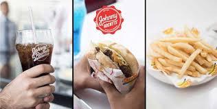 burger fries soft drink johnny rockets