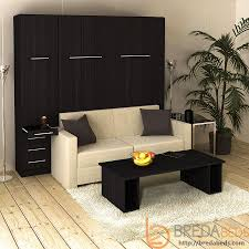 Sofa Murphy Beds by Inline Murphy Bed With Hutch And Inline Sofa Murphy Bed Couch