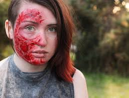Halloween Makeup Burned Face by Ootd Burn The Walrus Room