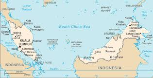 country maps map of malaysia terrain area and outline maps of malaysia