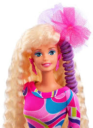 totally hair 25th anniversary barbie doll dwf49 barbie