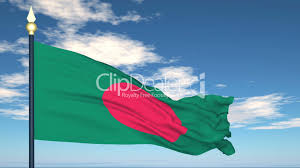 Bangladesi Flag Flag Of Bangladesh Royalty Free Video And Stock Footage