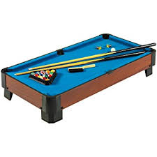smallest room for a pool table amazon com hathaway sharp shooter pool table blue 40 inch