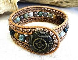 beaded leather cuff bracelet images 701 best beaded ladder wrap cuff bracelets images jpg