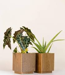 modern planter with stand plant stands indoor large planter