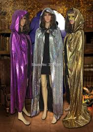 costume wizard robe aliexpress com buy wholesale colorful laser hooded cloak