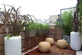 sichtblende balkon balkon sichtschutz aus bambus praktische und originelle idee