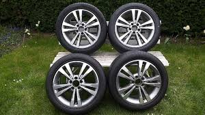 mercedes 17 inch rims 17 inch mercedes e class alloys alloy wheels with tyres 4 x 245